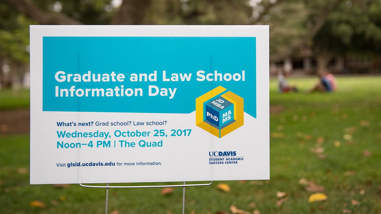 The Graduate and Law School Information Day information campaign increased attendance markedly.